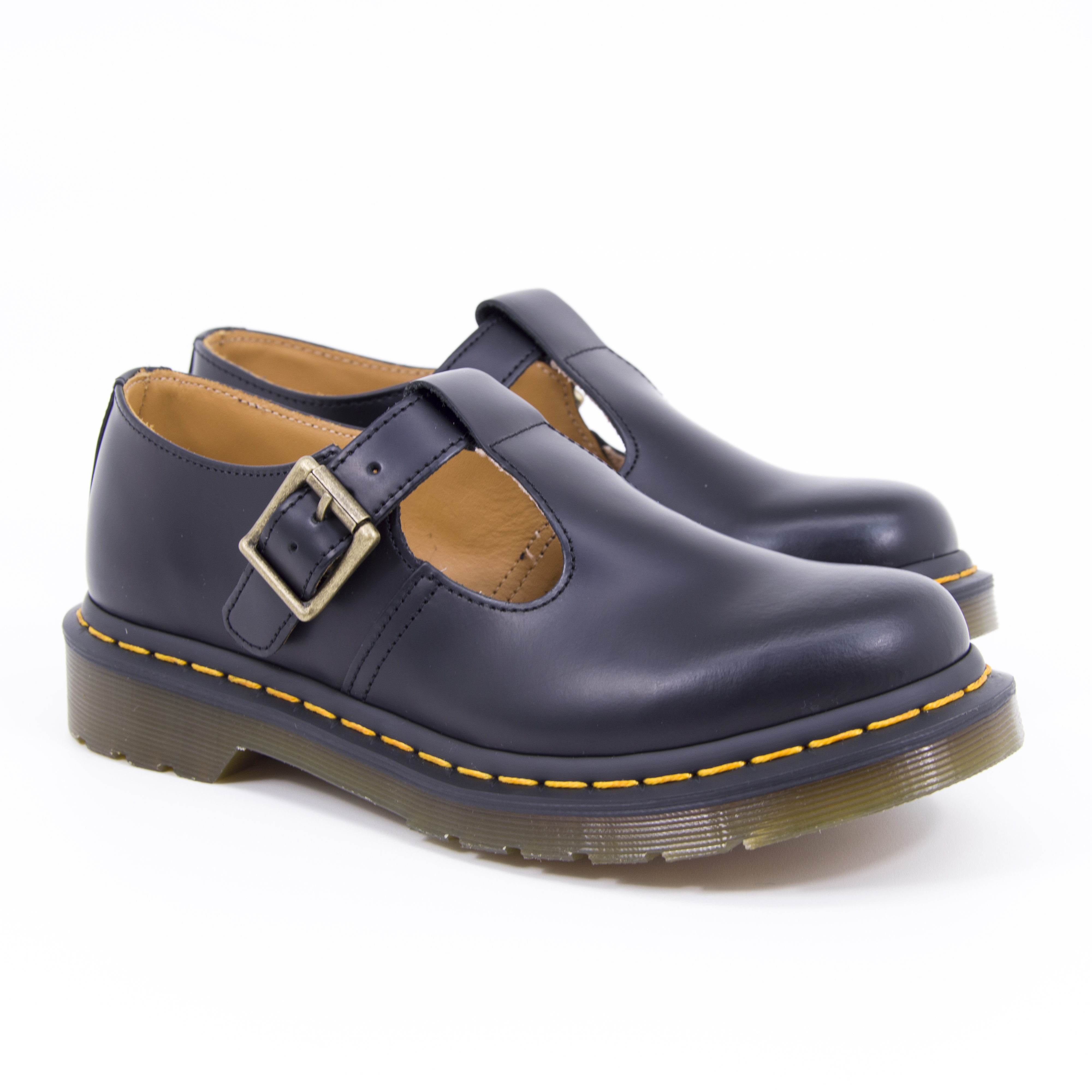Dr.Martens - POLLEY - Black Smooth