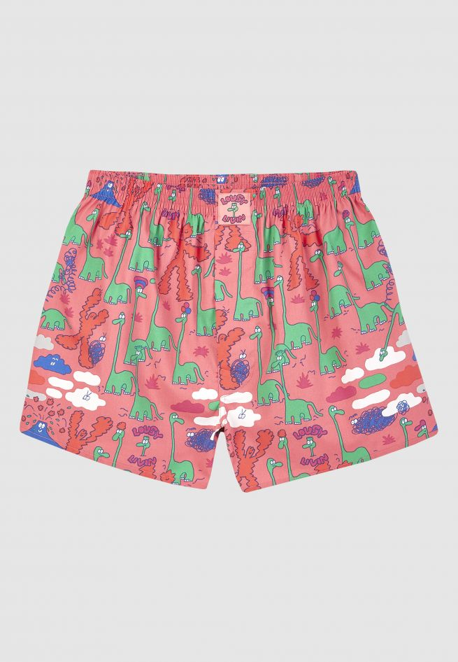 Lousy Livin - DINOS BOXER - Pink