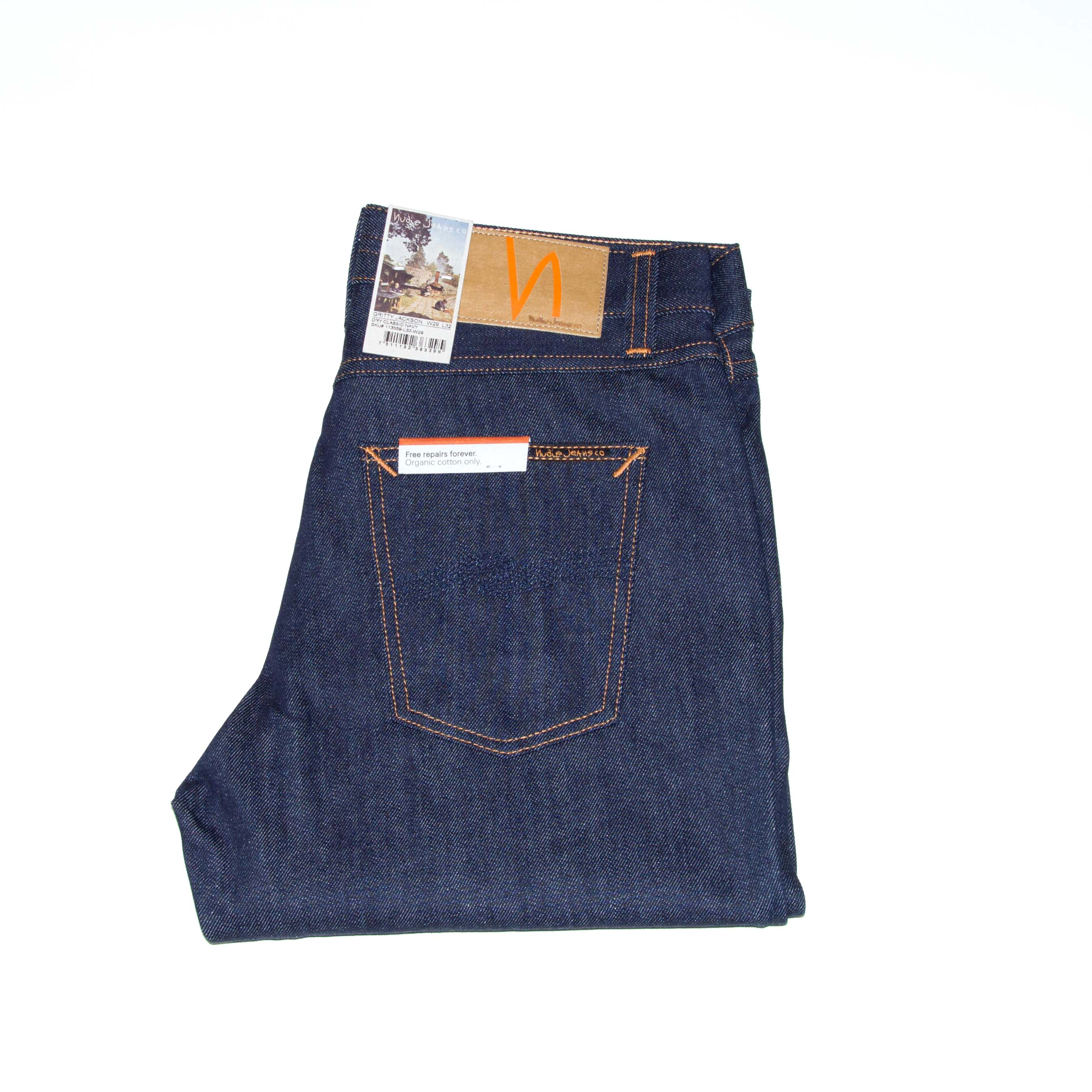 Nudie Jeans - GRITTY JACKSON - Dry  Classic Navy