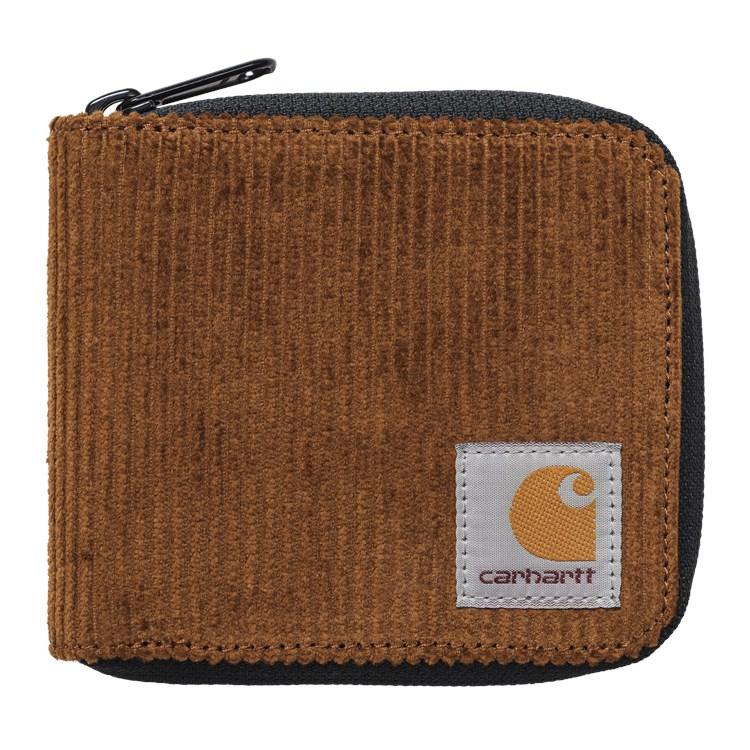 Carhartt WIP - FLINT ZIP WALLET - Tawny