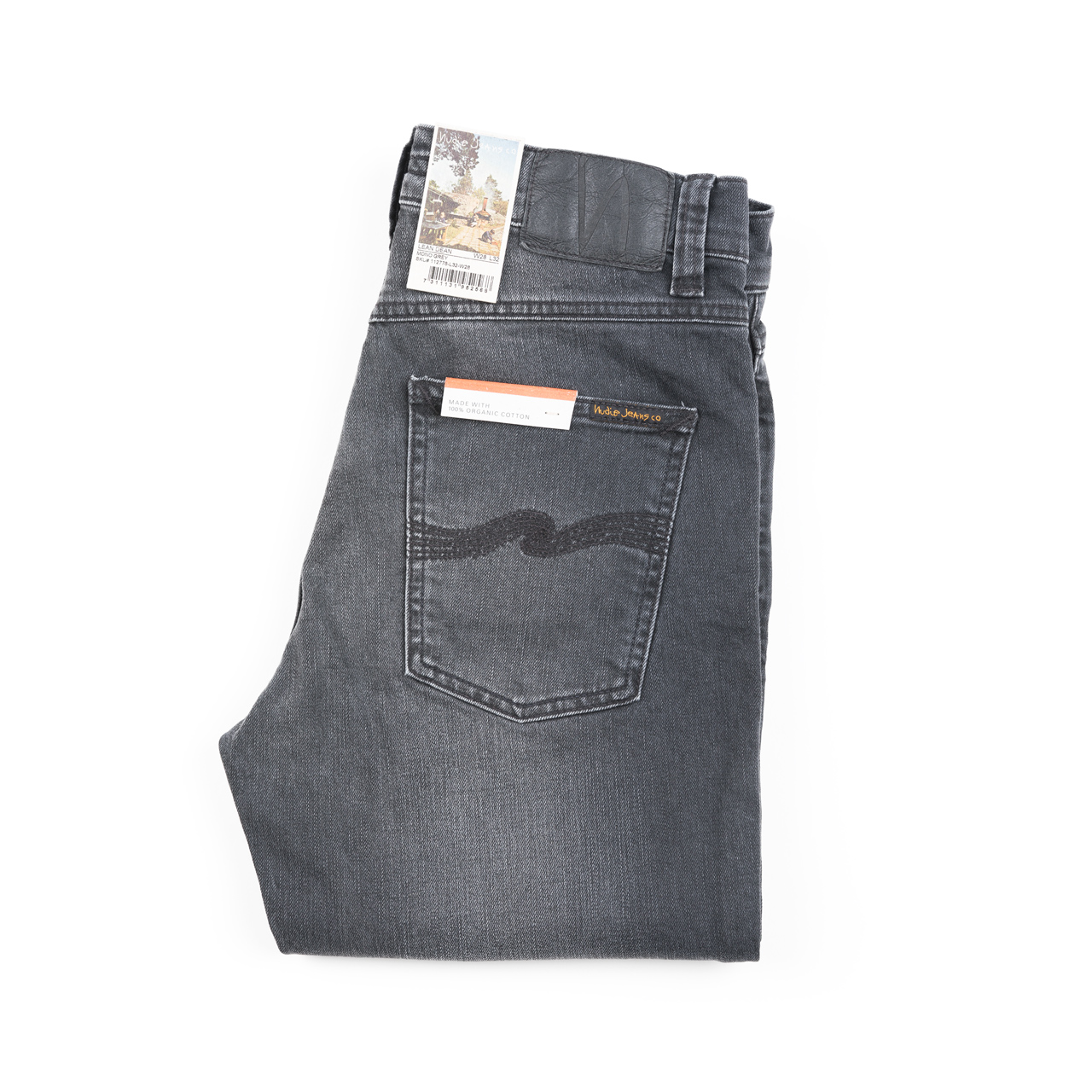Nudie Jeans - LEAN DEAN - Mono Grey