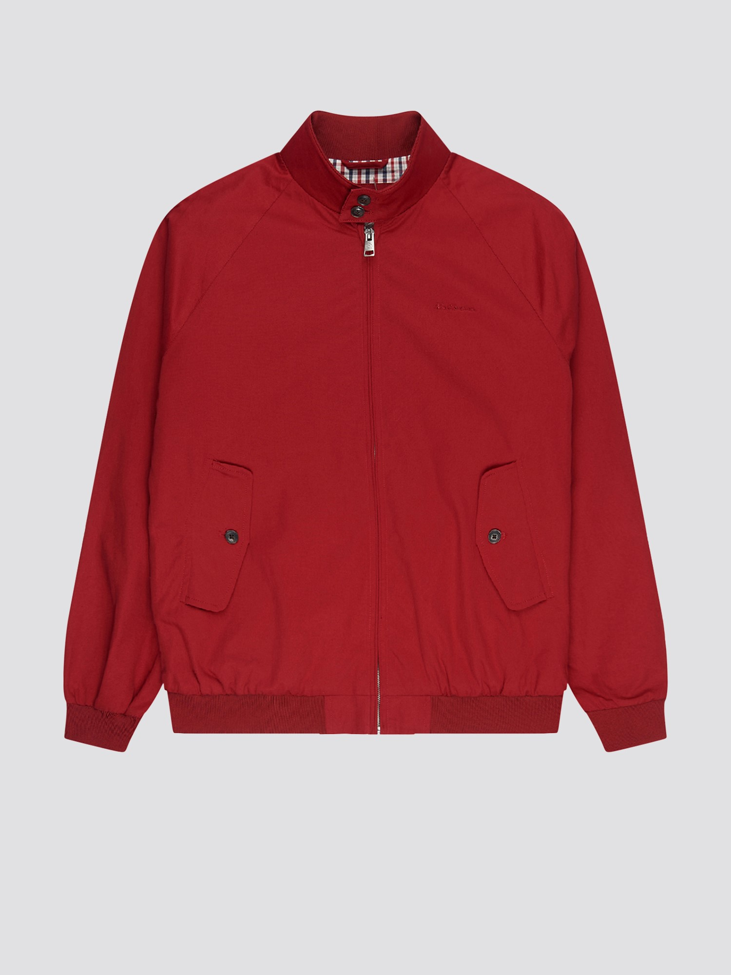 Ben Sherman -Harrington Jacket - Red