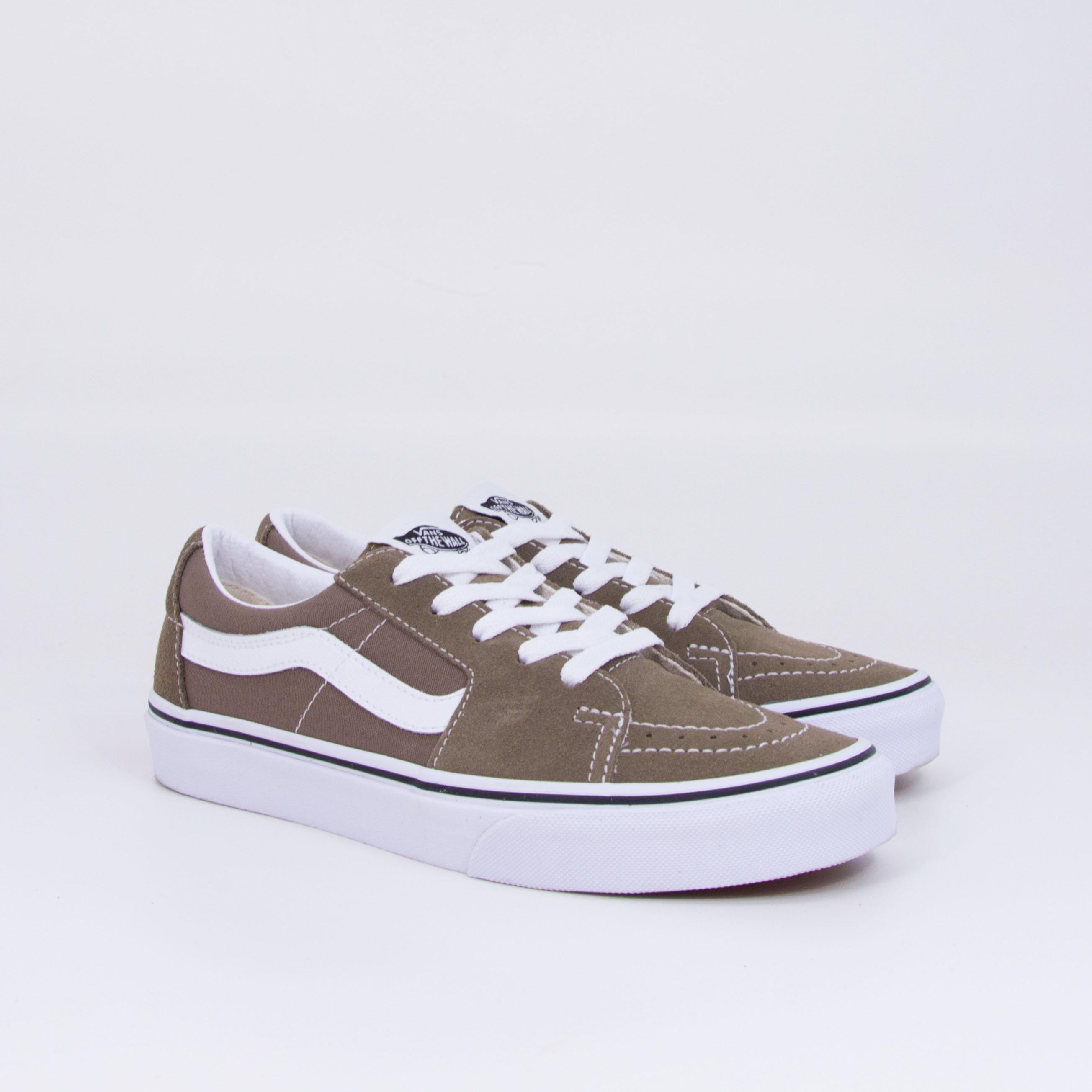 Vans - SK8-LOW - Walnut/True  White