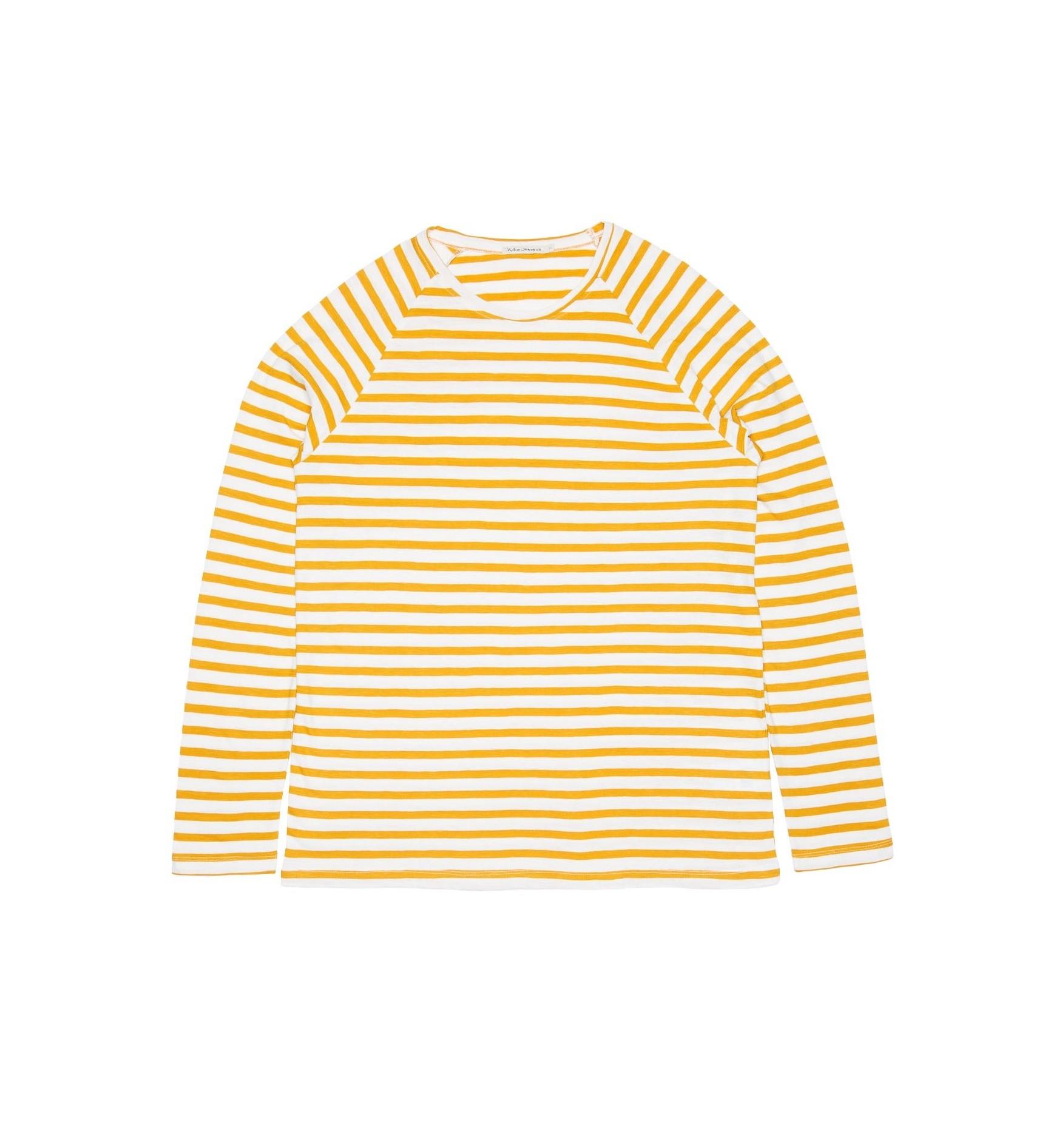 Nudie Jeans - OTTO BRETON STRIPE - Yellow