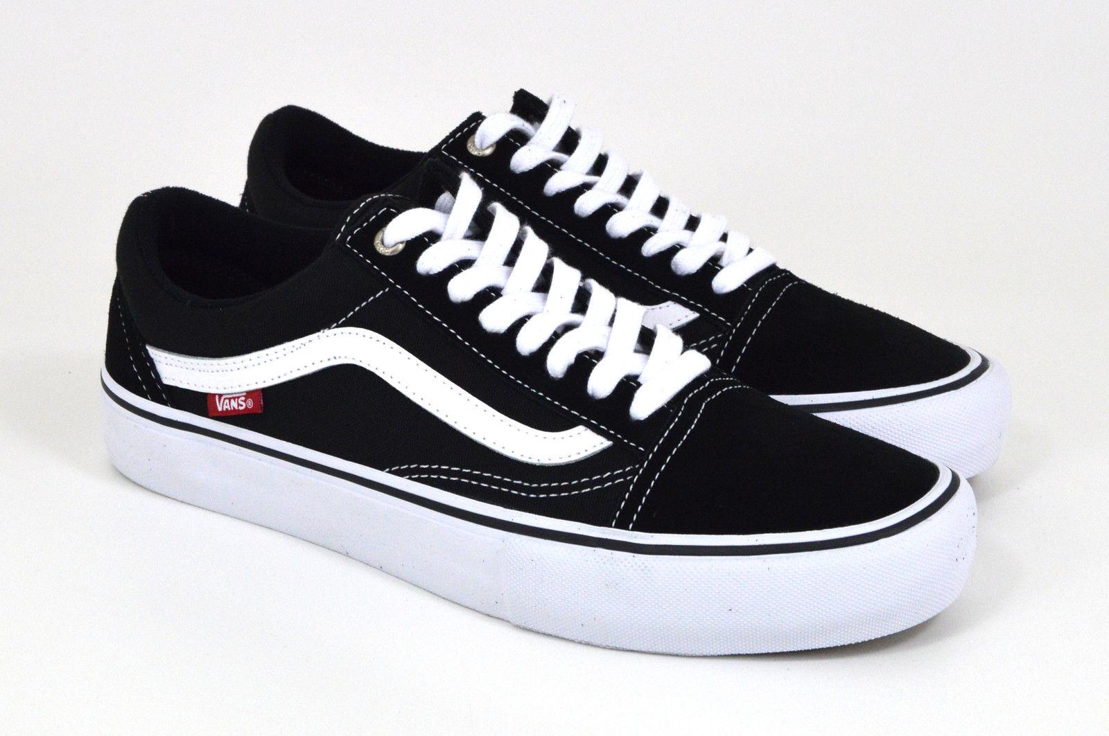 Vans - OLD SKOOL PRO - Black/White