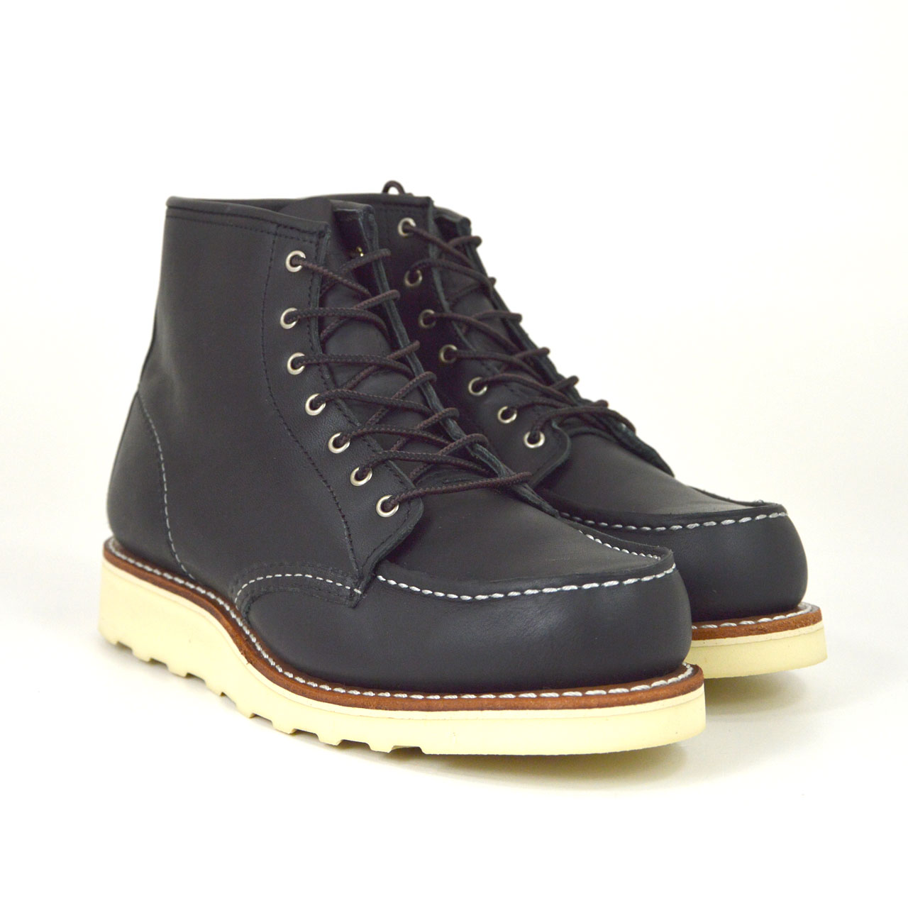 Red Wing - WOMENS MOC TOE 3373 - Black Boundary