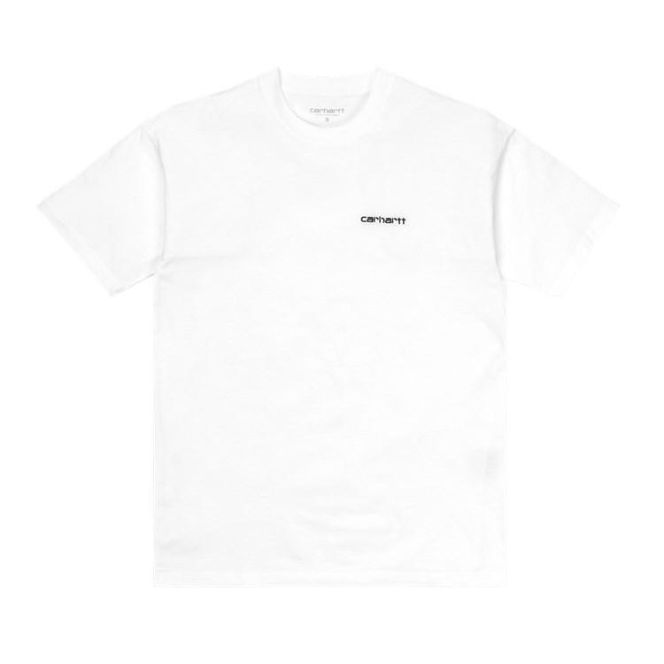 Carhartt WIP - W' SCRIPT EMBROIDERY T-SHIRT - White/Black