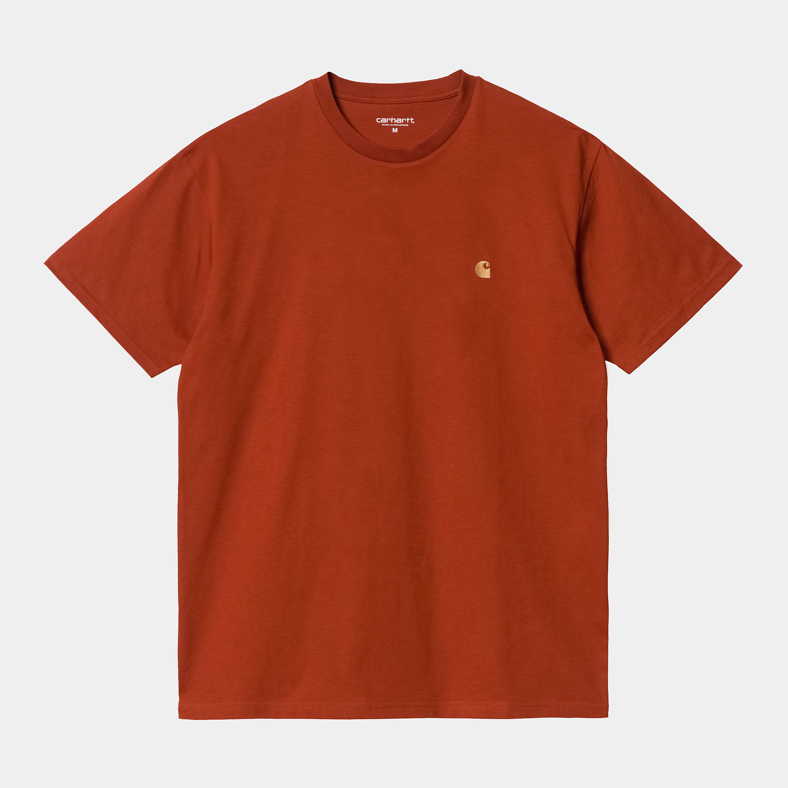 Carhartt WIP - CHASE T-SHIRT - Copperton/Gold