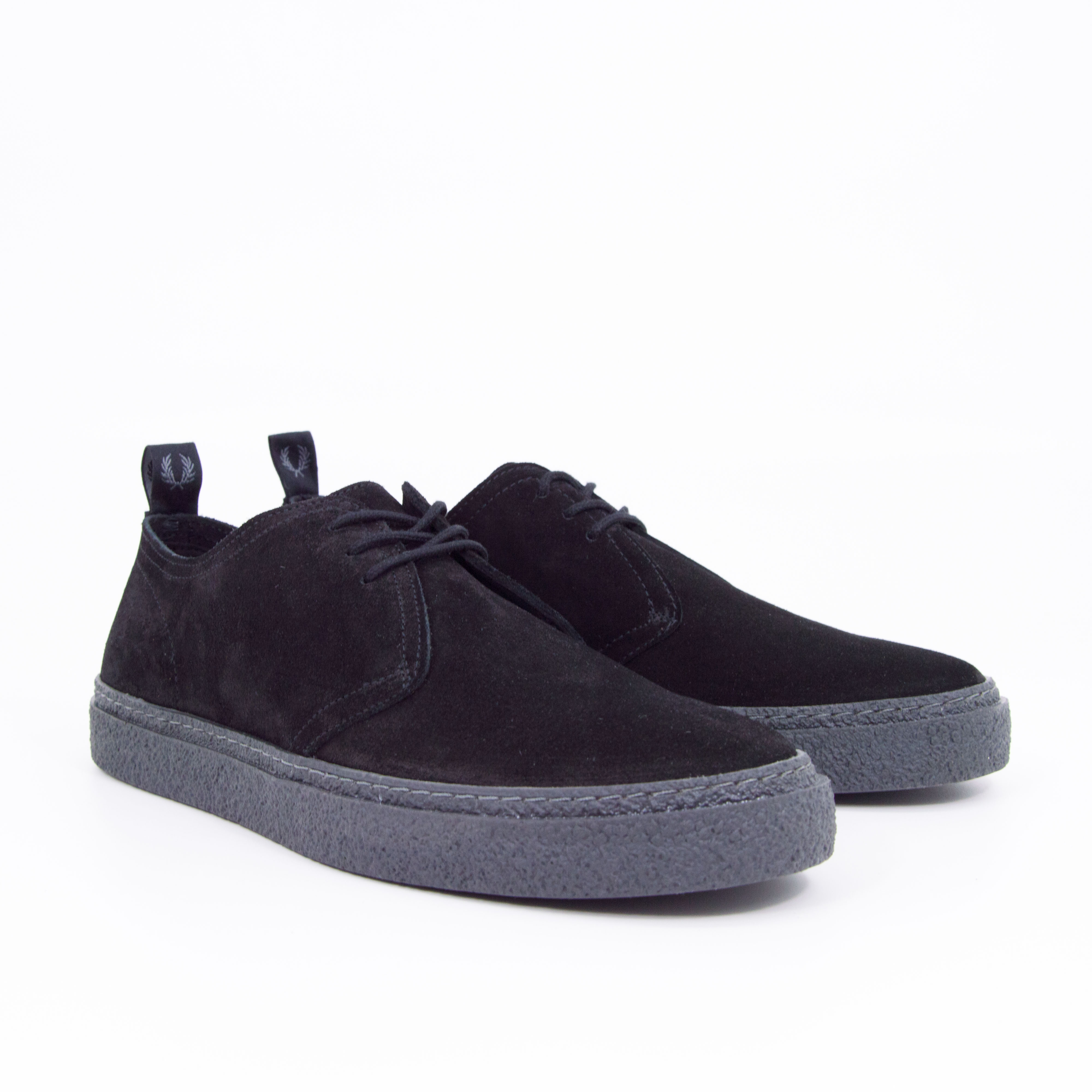 Fred Perry - LINDEN SUEDE - Black