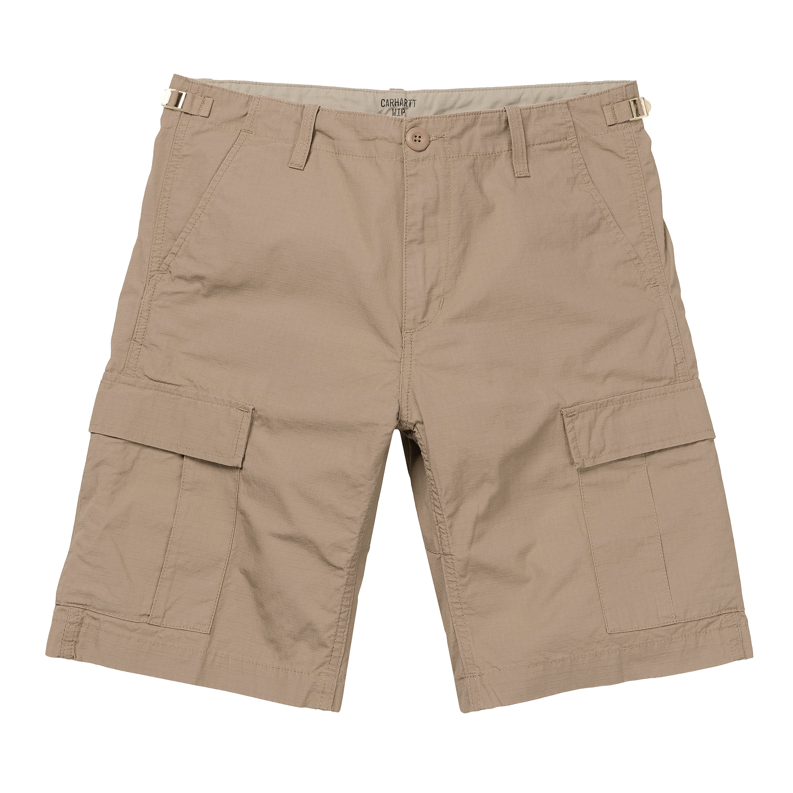 Carhartt WIP - AVIATION SHORT - Leather Rinsed