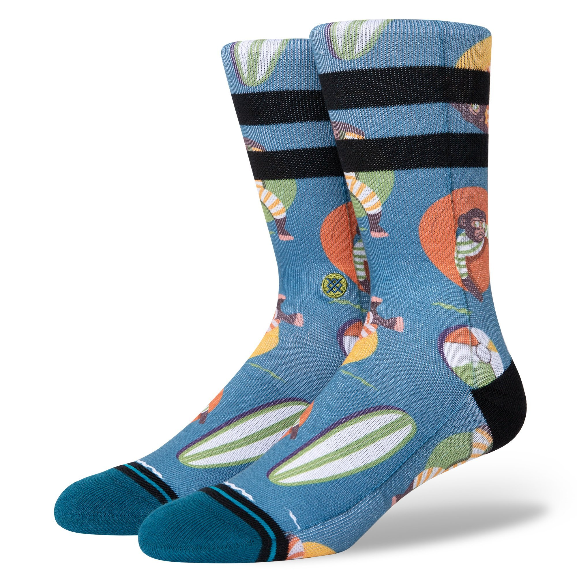 Stance - MONKEY CHILLIN - Teal