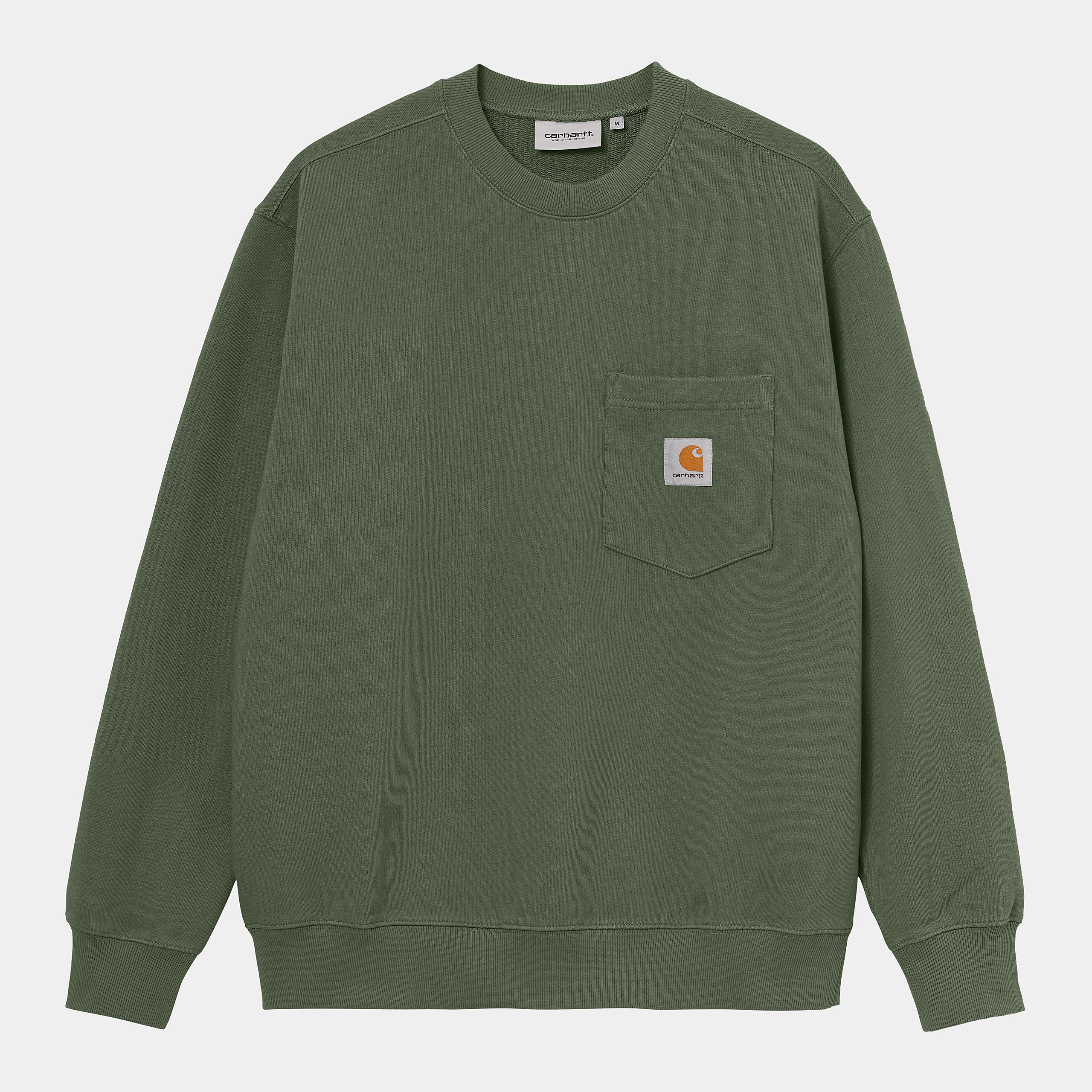 Carhartt WIP - POCKET SWEAT - Dollar Green