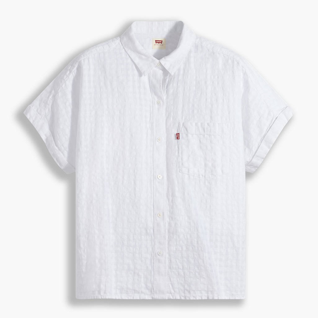 Levi's - LANEY BLUSE - Bright White