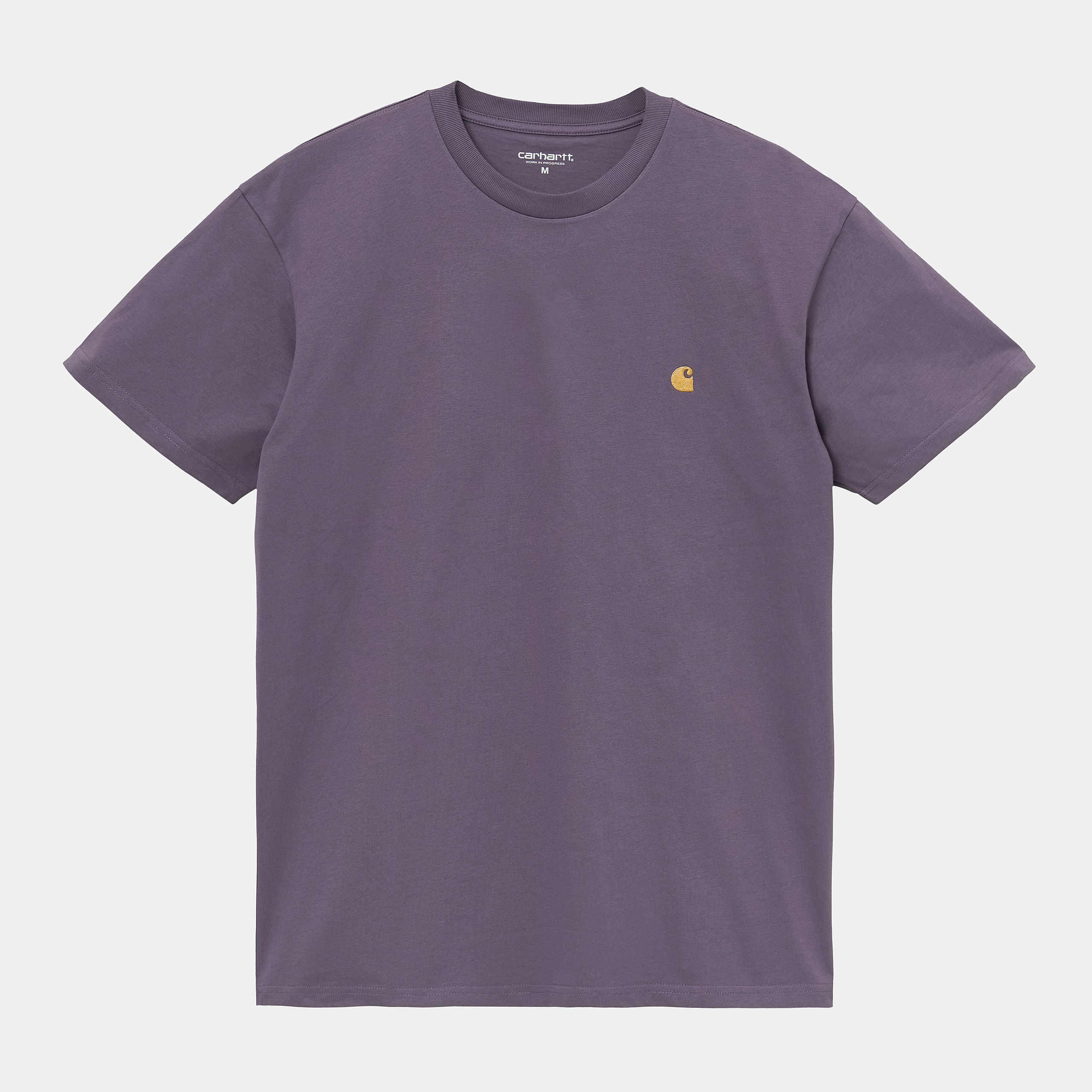 Carhartt WIP - CHASE T-SHIRT  - Provence/Gold