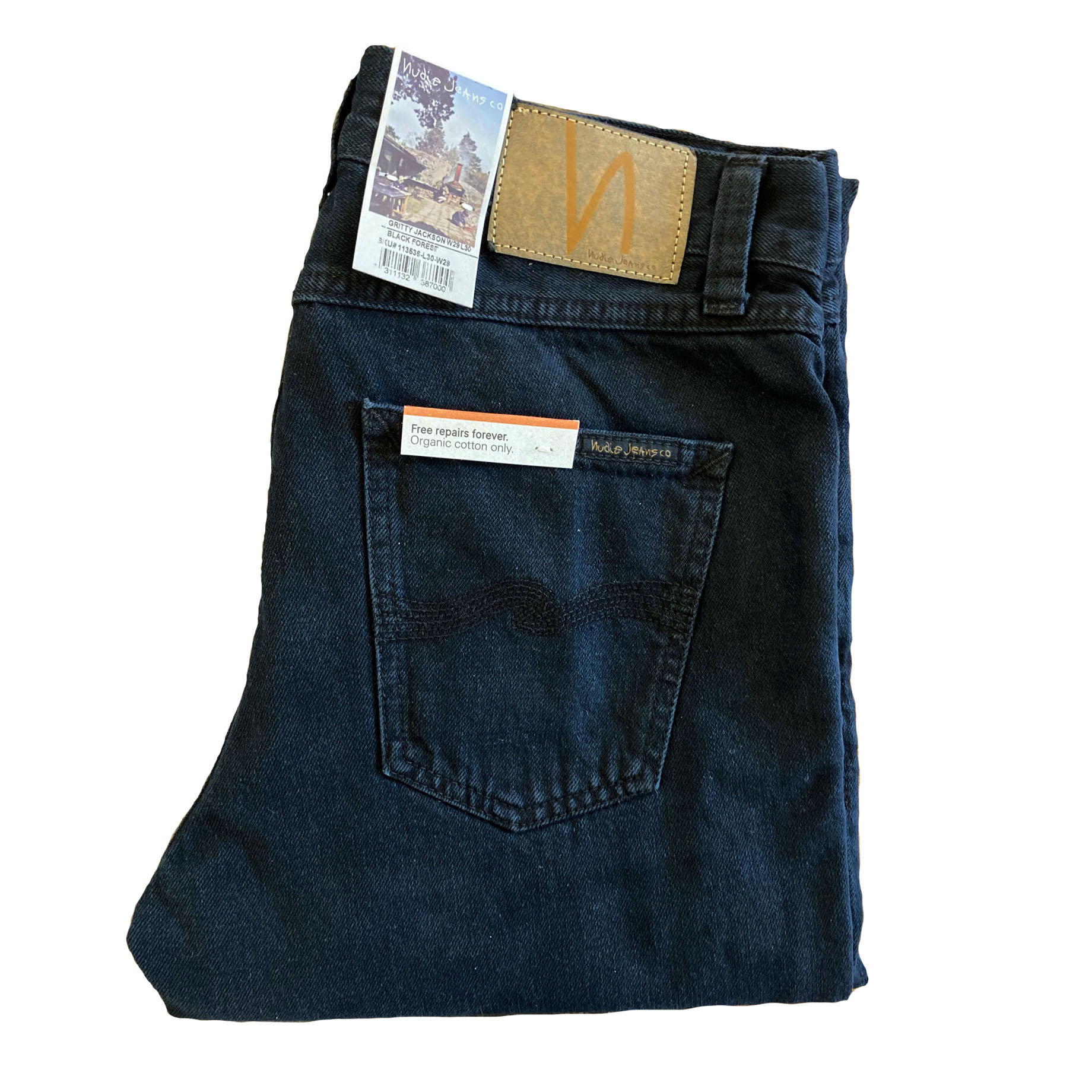 Nudie Jeans - GRITTY JACKSON - Black Forest