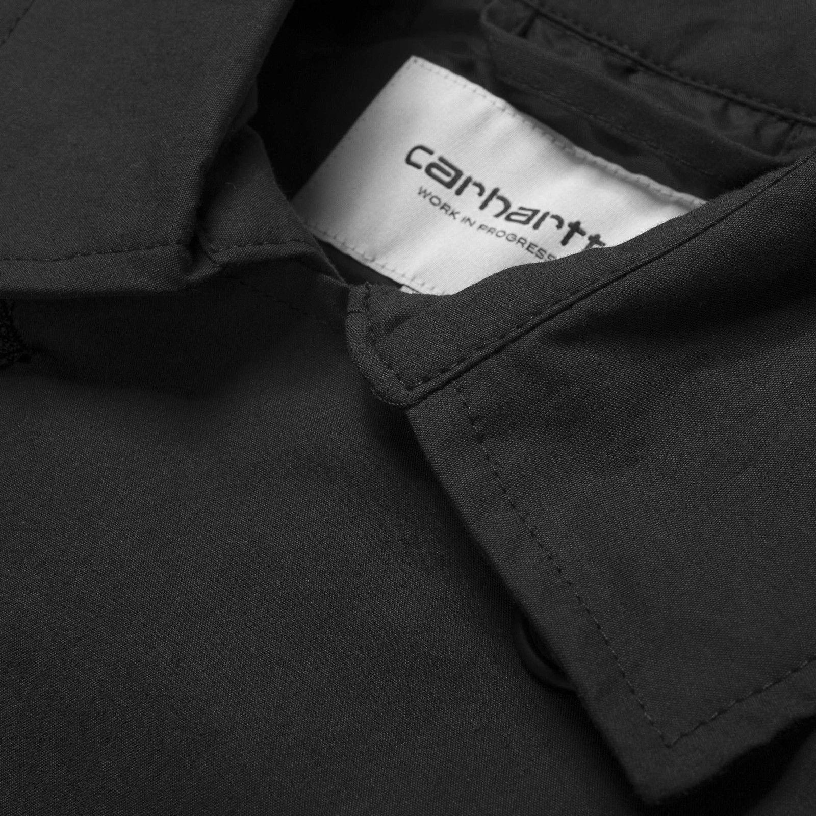 Carhartt WIP - JORDI TRENCH COAT - Black