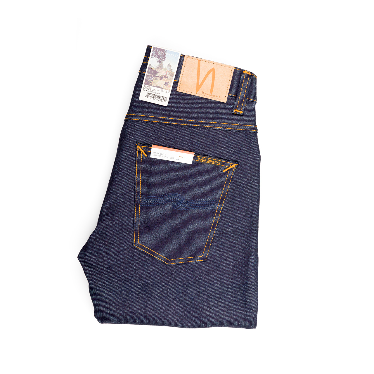 Nudie Jeans - GRIM TIM - Dry True Navy