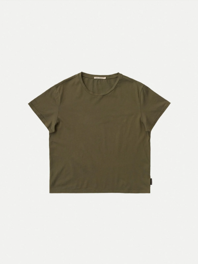Nudie Jeans - LISA T-SHIRT - Army