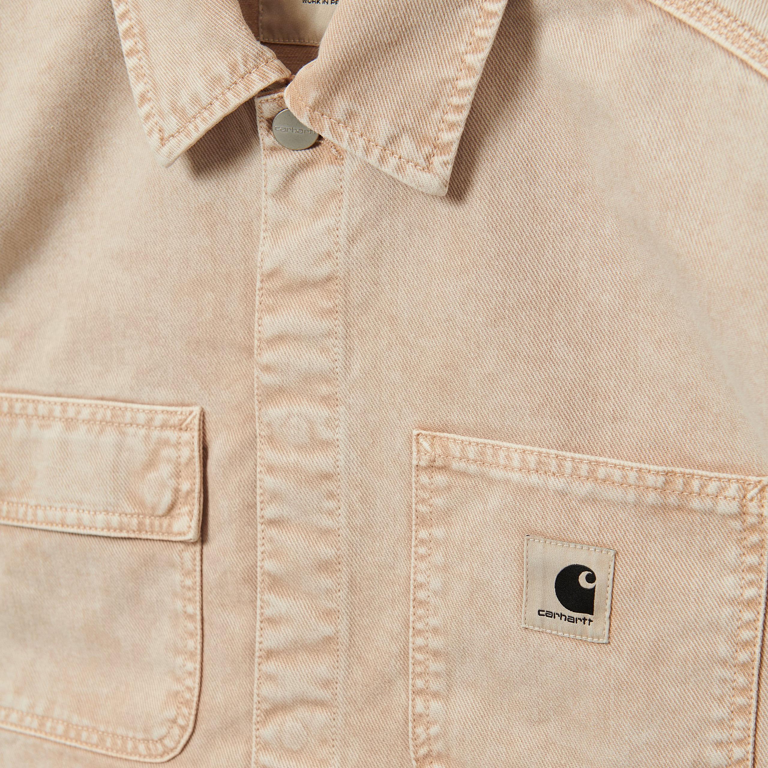 Carhartt WIP - W' SONORA SHIRT JACKET - Dusty Hamilton Brown (worn washed)