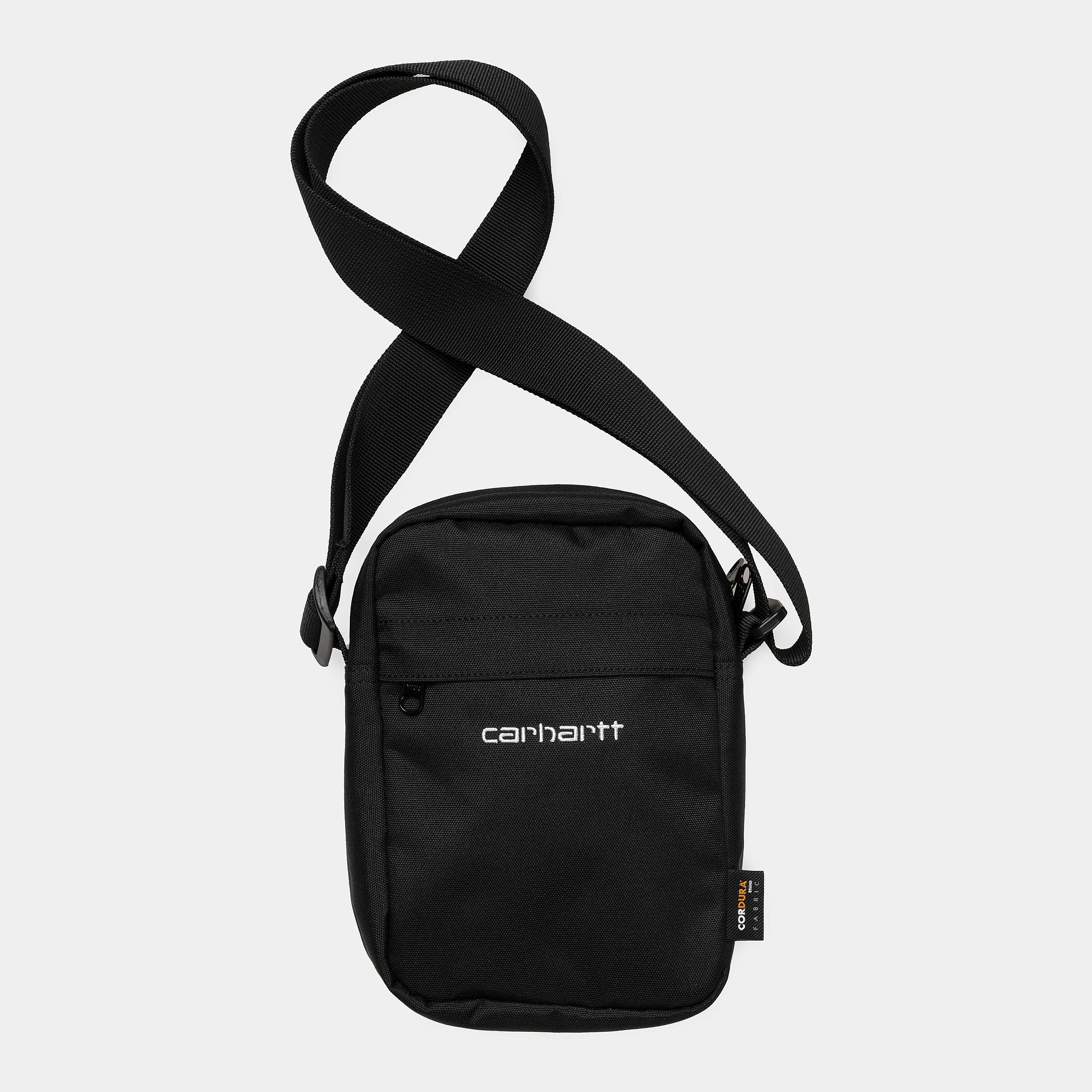 Carhartt WIP - PAYTON SHOULDER POUCH - Black/White