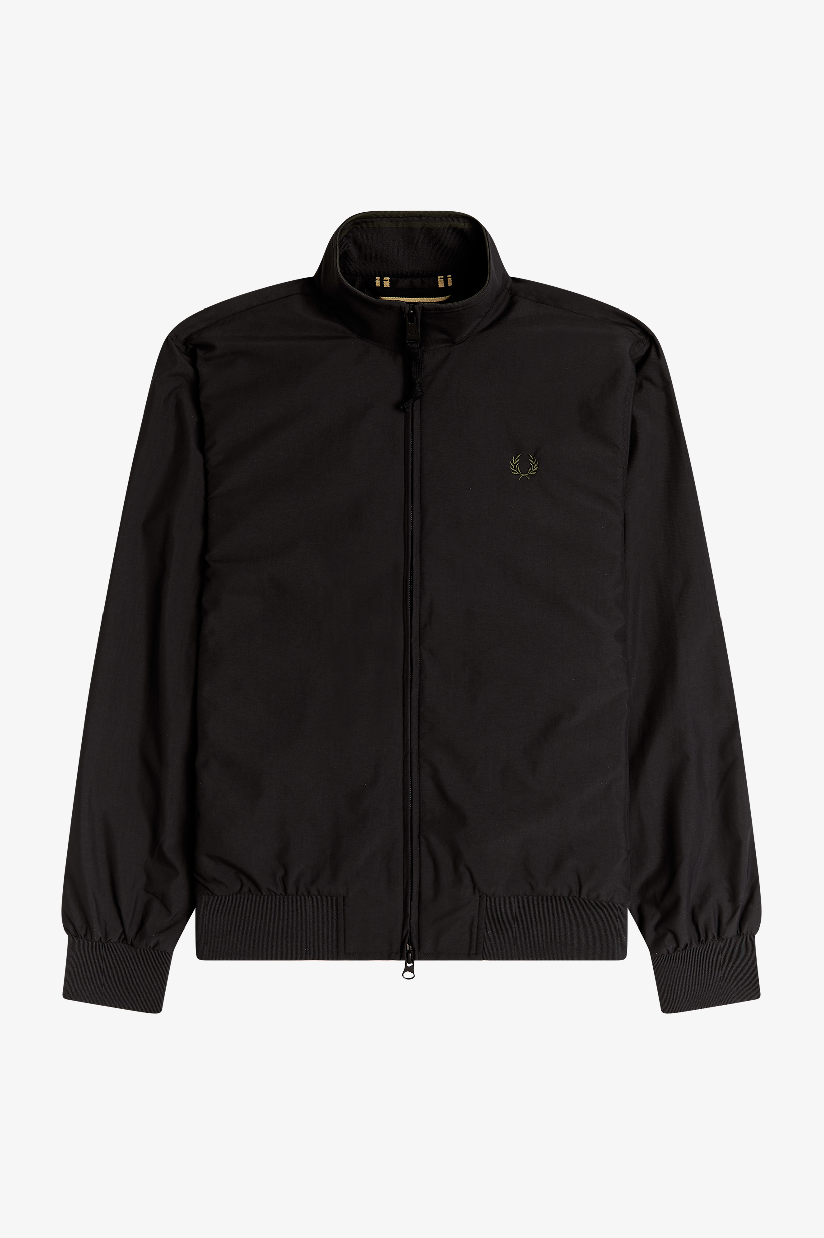 Fred Perry - BRENTHAM JACKET - Black/Champagner