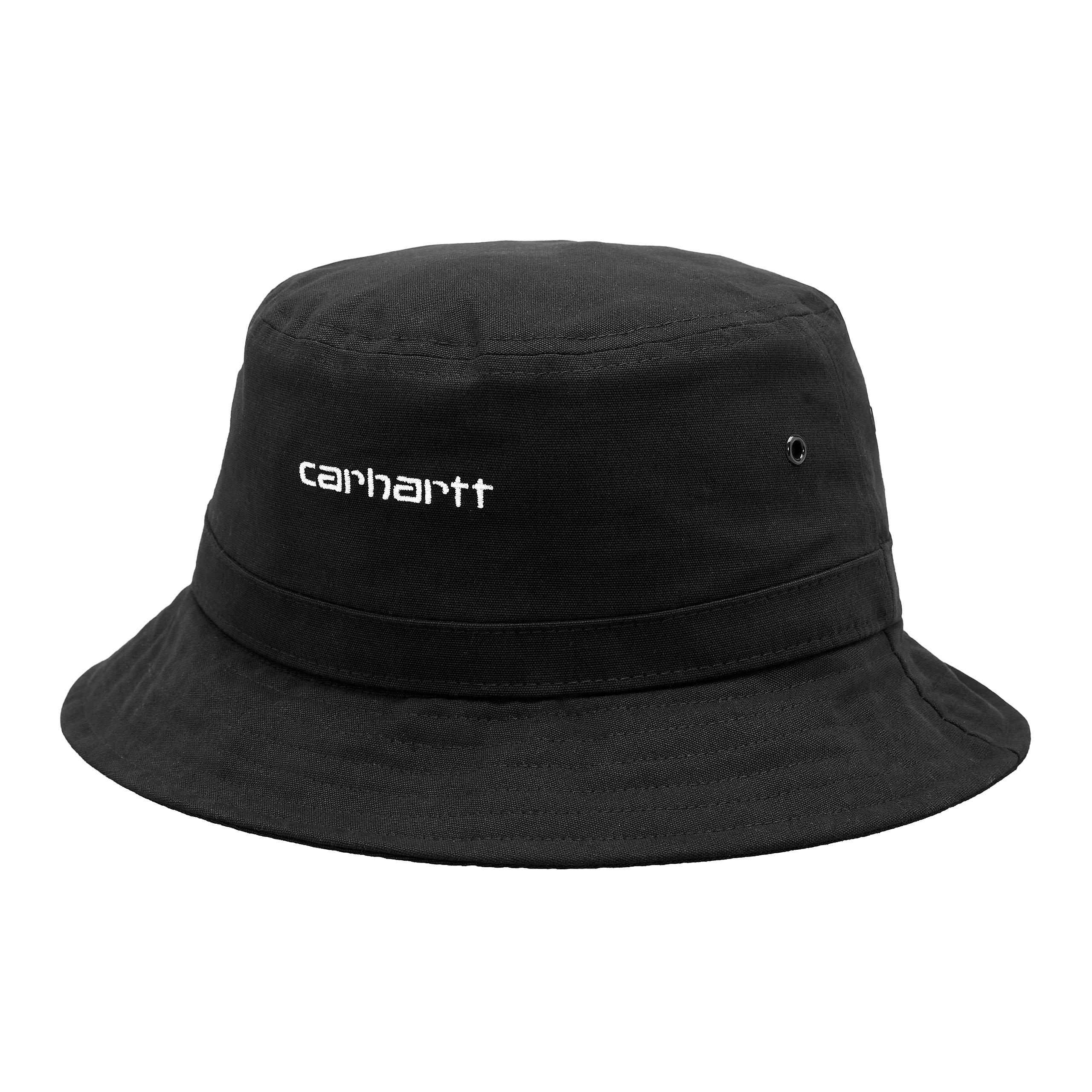 Carhartt WIP - Script Bucket Hat - Black