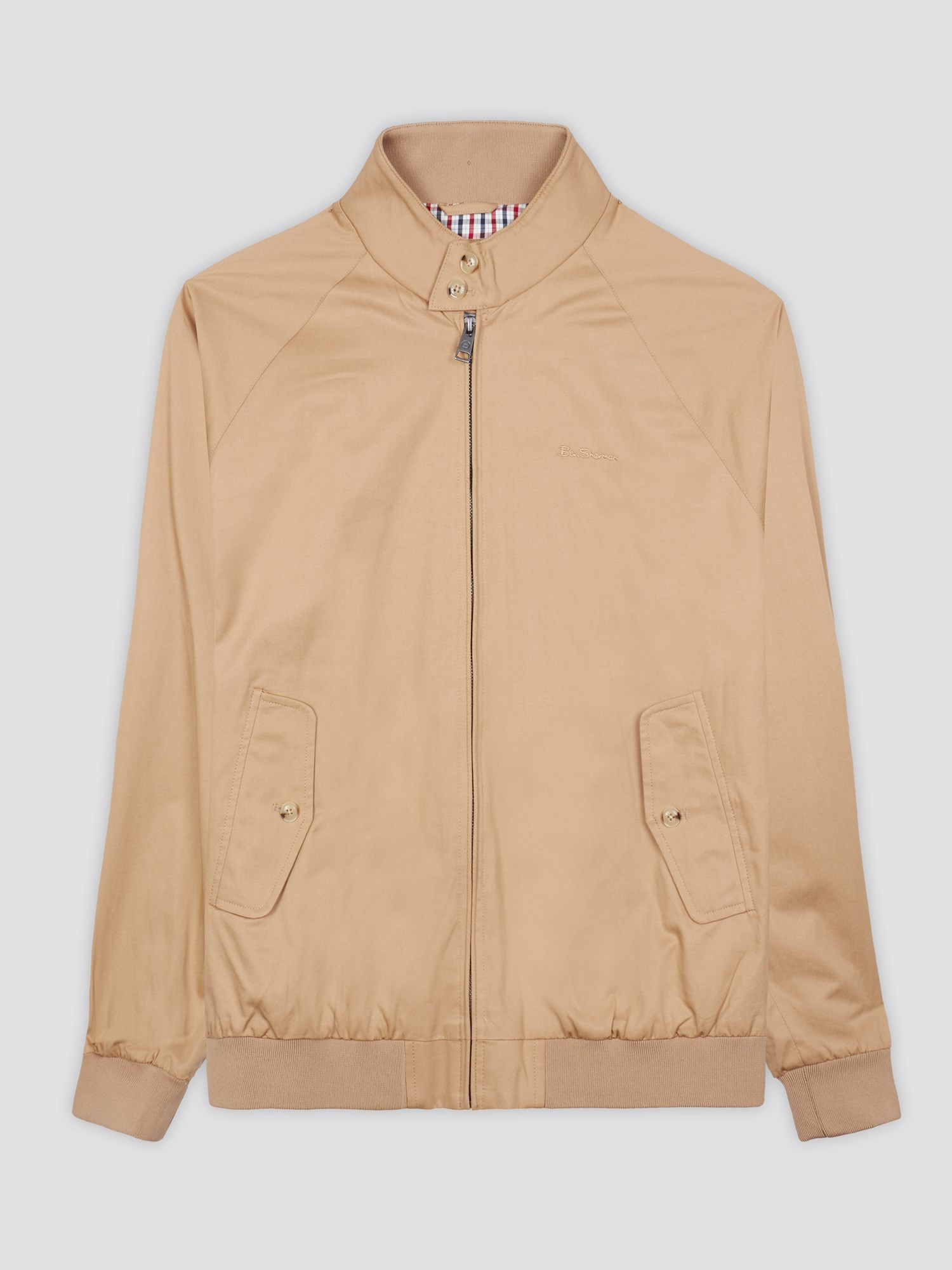 Ben Sherman -Harrington Jacket - Sand