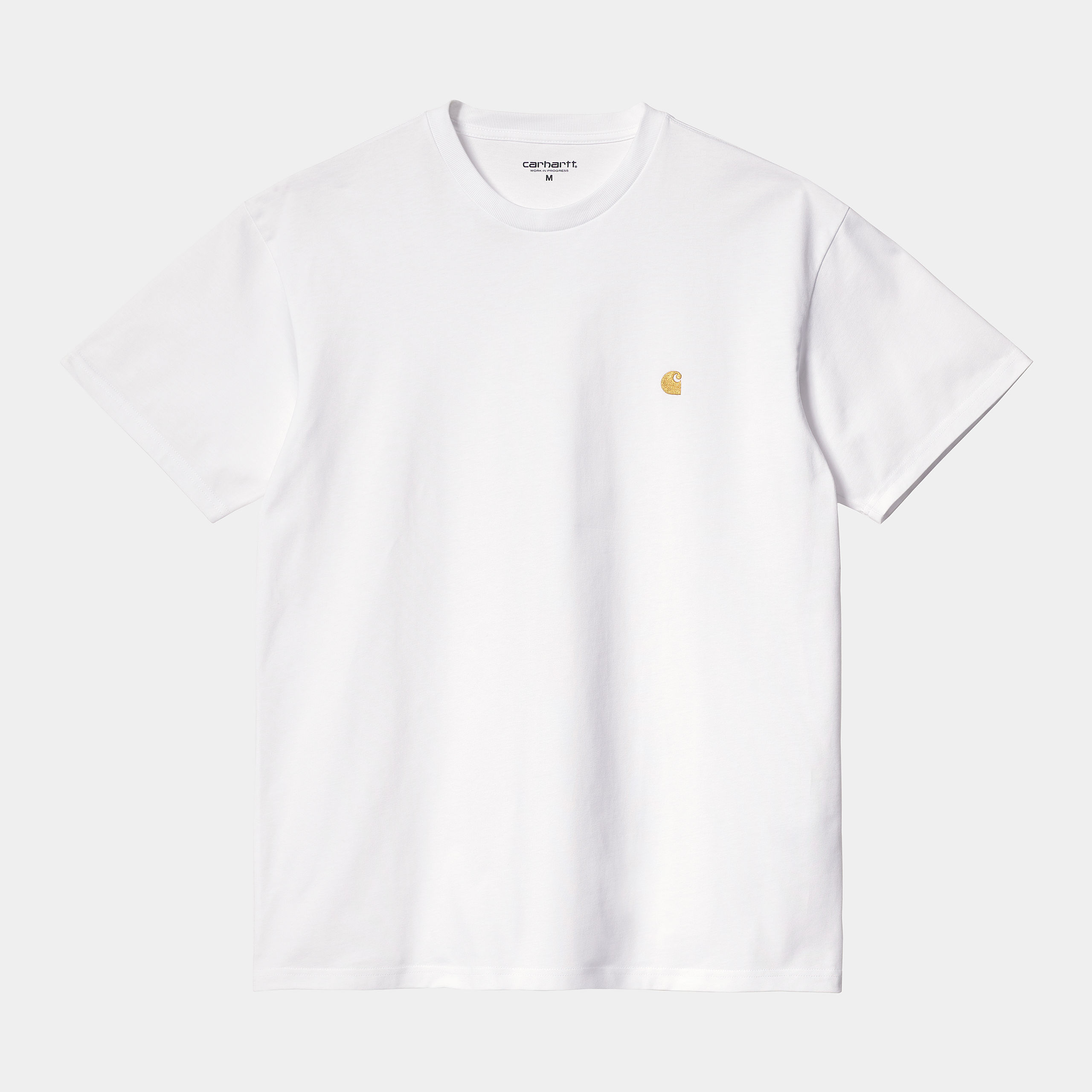 Carhartt WIP - CHASE T-SHIRT - White/Gold